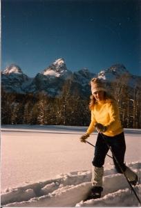 x-c ski tetons
