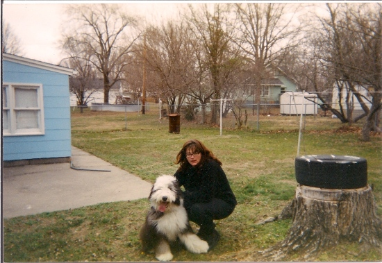 At grandma's house in Missouri, November 2002